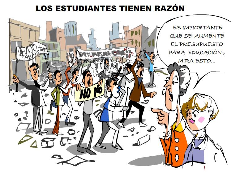 LOS ESTUDIANTES TIENEN RAZ�N